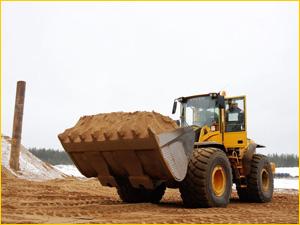 строительный песок добыча