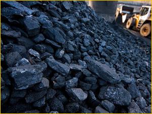 Заказать уголь для отопления с доставкой по городу