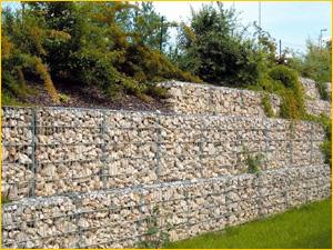 Укрепление стены при помощи скальника
