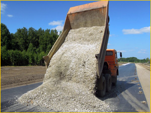 щебеночно гравийно песчаная смесь для дорог
