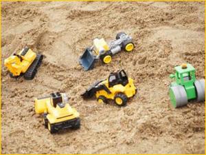 Песок для песочницы в детский сад