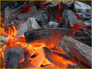 Уголь для костра и котельни