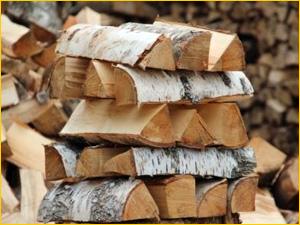 Качественные колотые березовые дрова для отопления дома и бани
