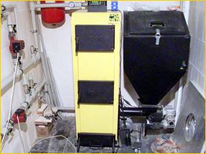 Котел для отопления частного дома работающий на угле